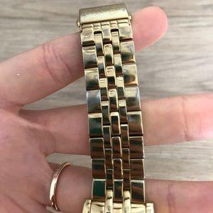 Michael Kors Jewelry - Michael Kors Gold Plated Watch